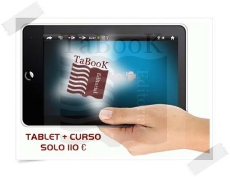 Tablet con curso instalado a elegir